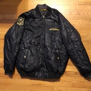 Nylon quilted midweight NFL Jaguars jacket
